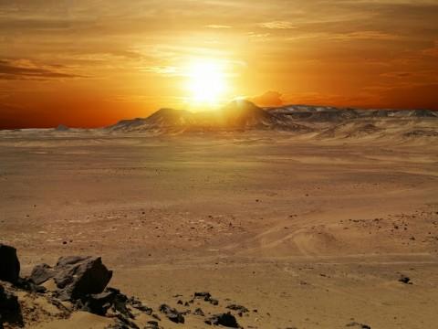 火星の接近