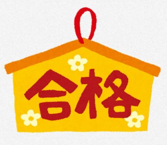 宅建試験合格